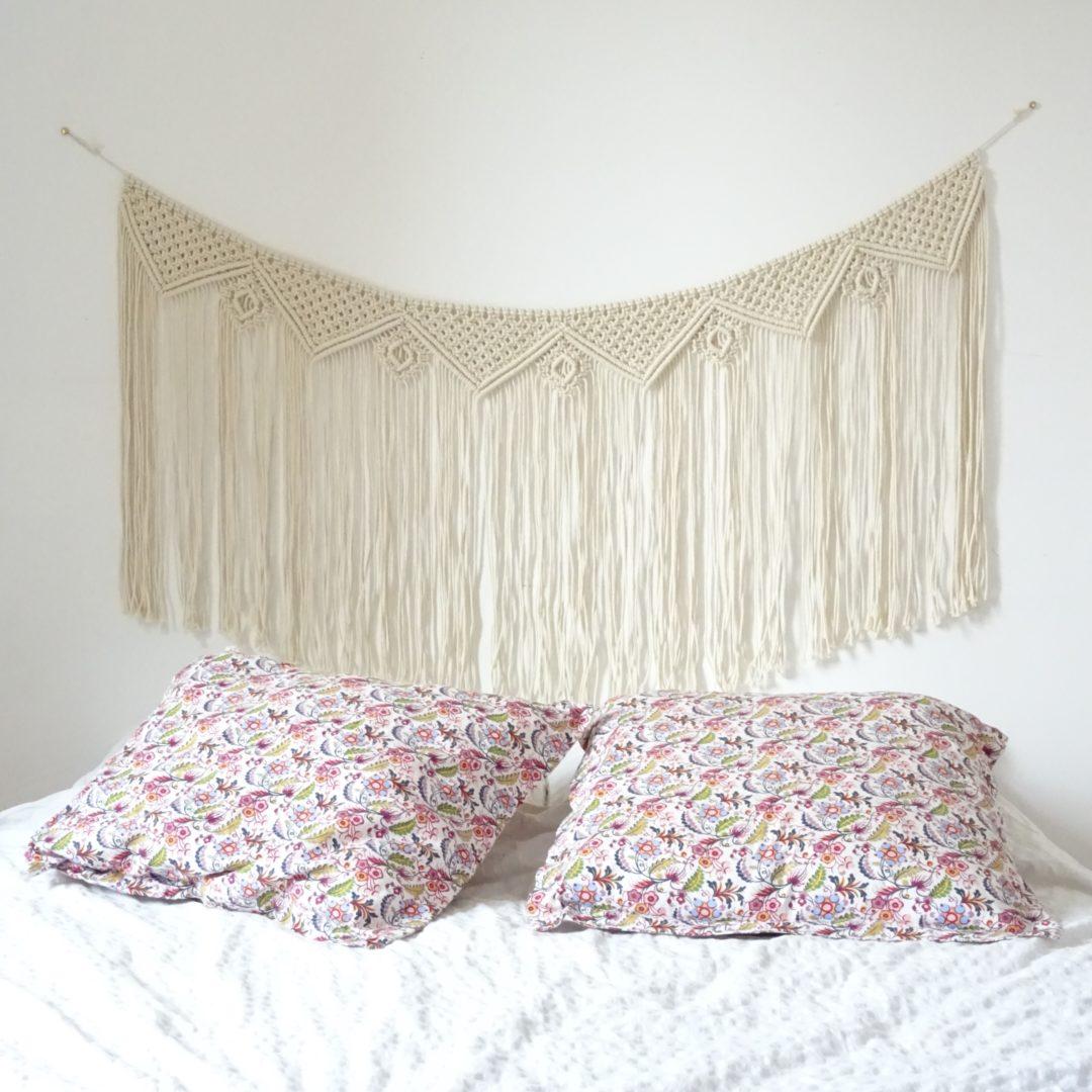 guirlande t te de lit boho manawea macram. Black Bedroom Furniture Sets. Home Design Ideas