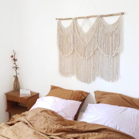 macrame tete de lit